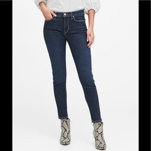 Banana Republic Mid Rise Skinny Ankle Length Jeans